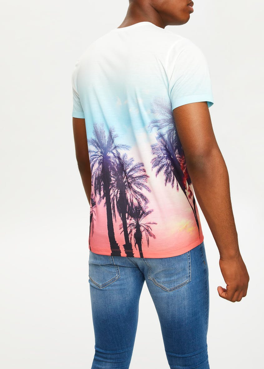 Ibiza Sublimation Print T-Shirt