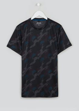 Souluxe Camo Gym T-Shirt