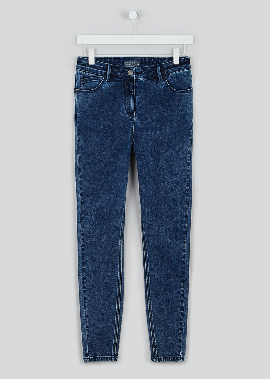 April Acid Wash Super Skinny Jeans