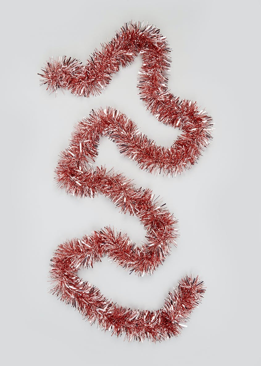 Glossy Christmas Tinsel Decoration (3m)