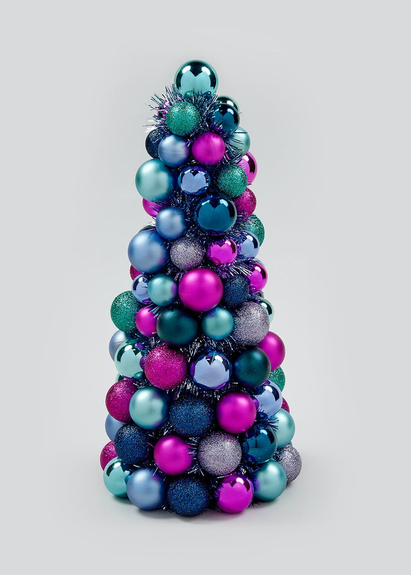 Christmas Bauble Tree (40cm)