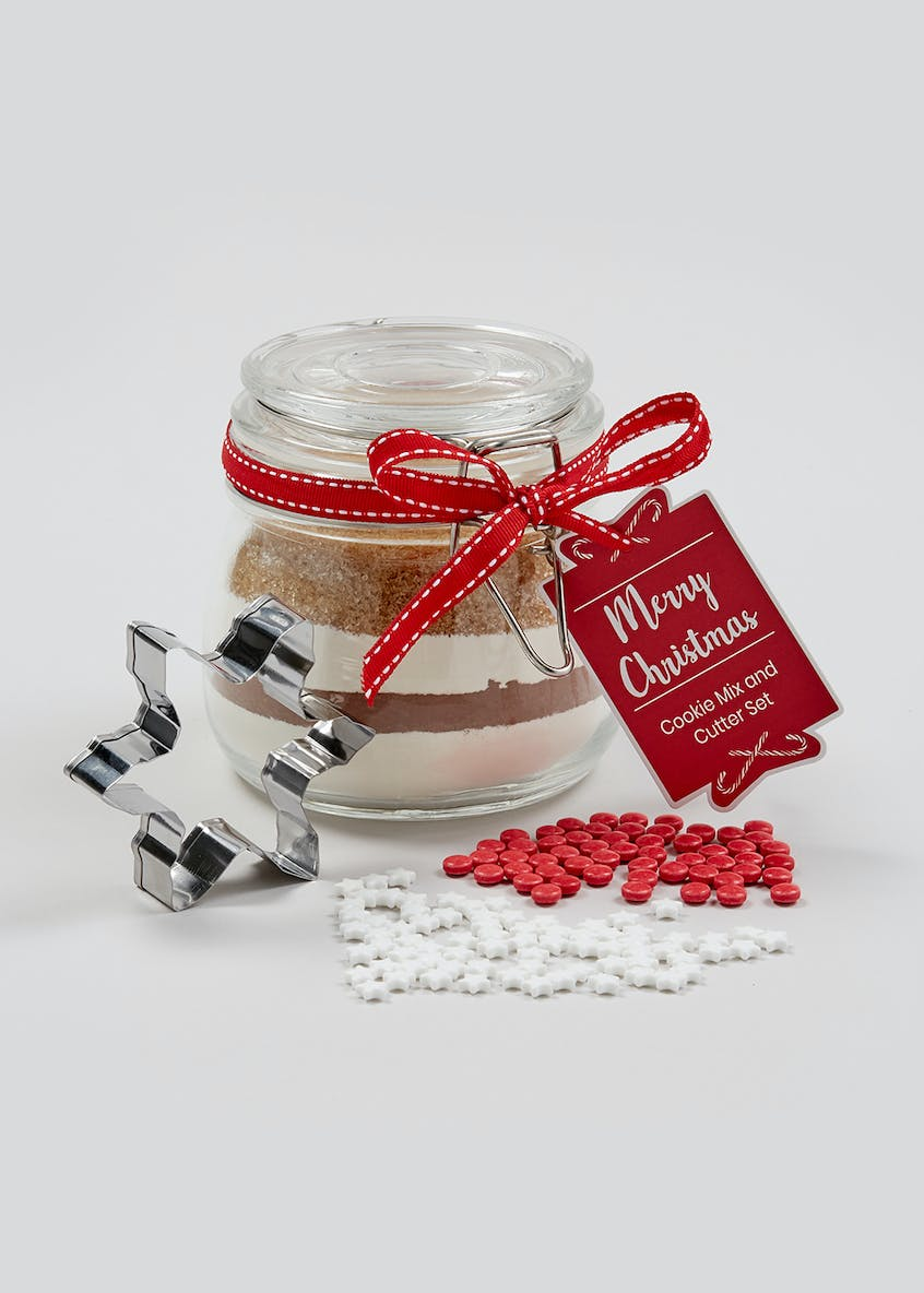 Christmas Cookie Mason Jar (10cm)