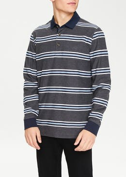 Lincoln Herringbone Polo Shirt