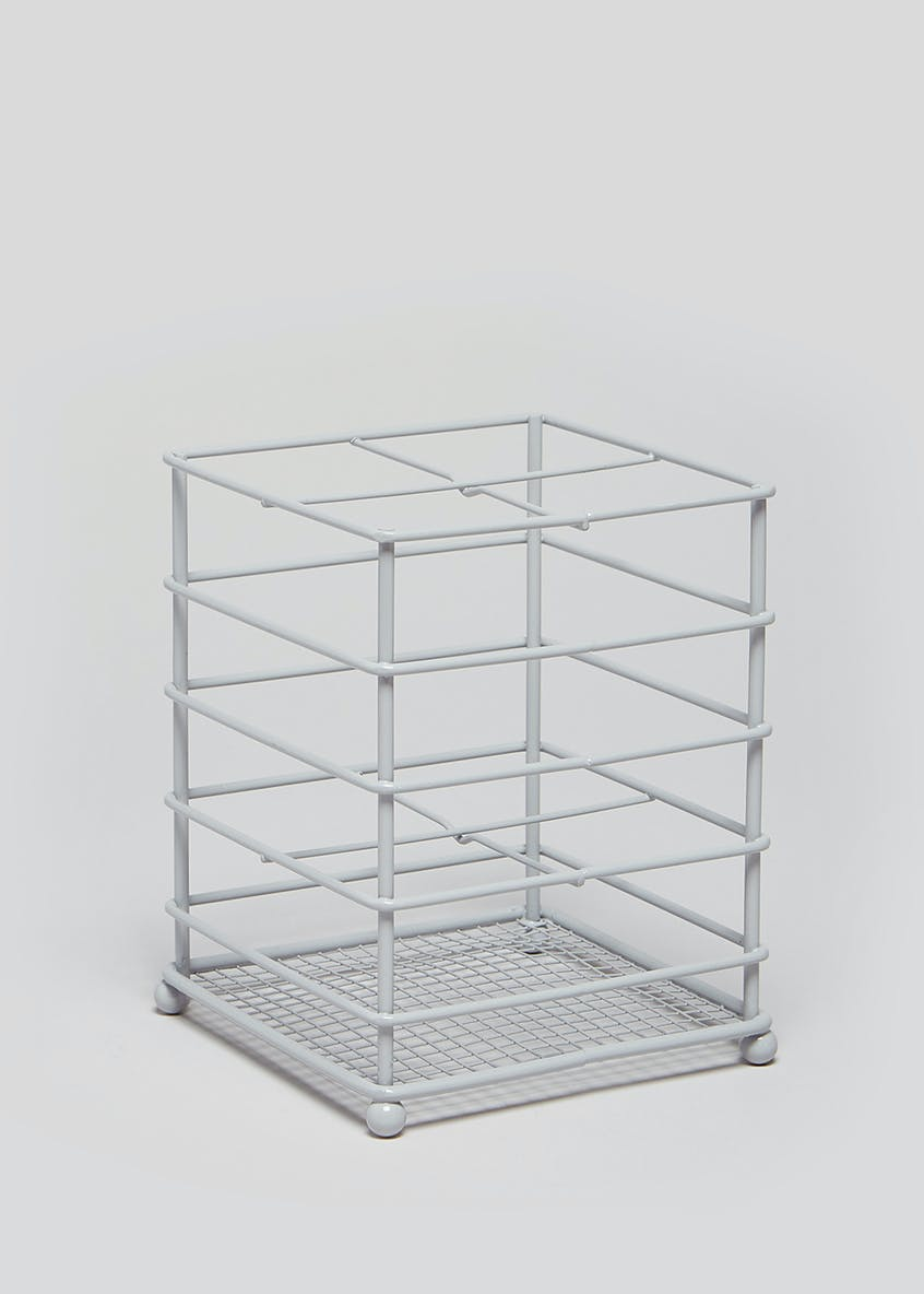 Wire Kitchen Caddy Rack (14.5cm x 11.5cm x 11.5cm)