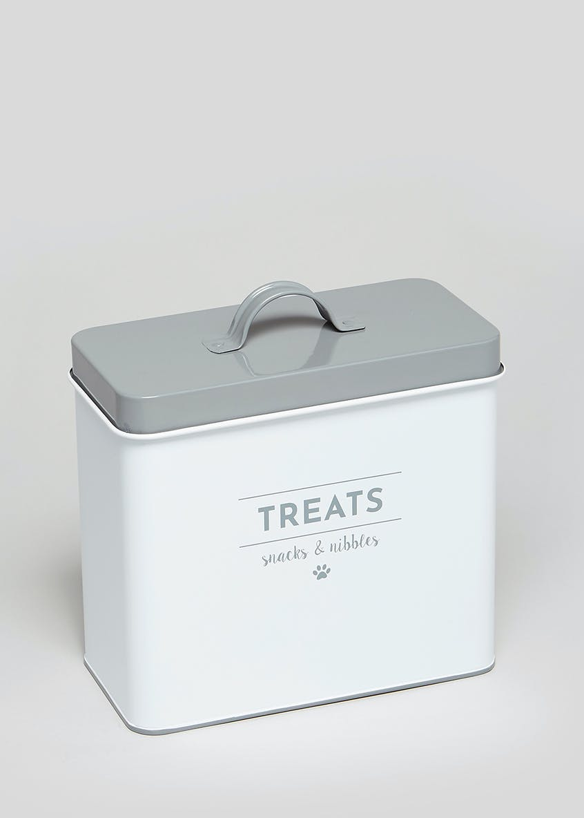 Pet Treat Tin (21cm x 10cm x 19cm)