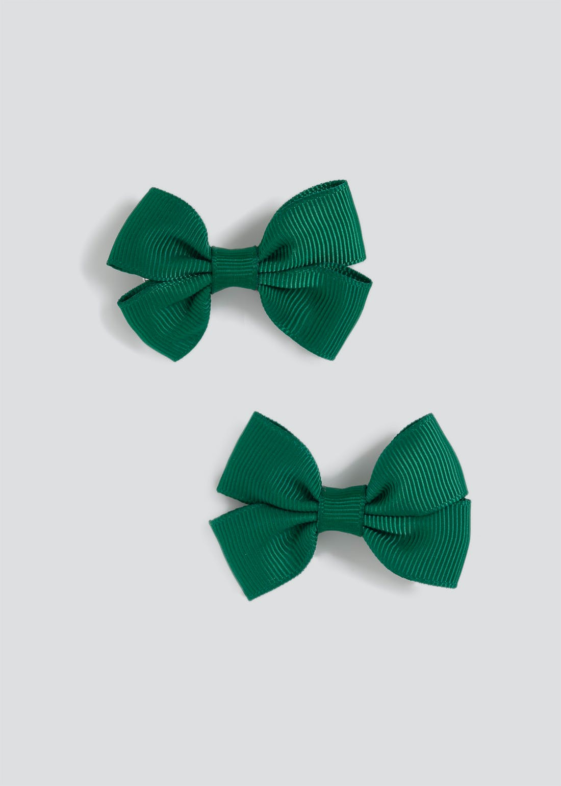 Girls 2 Pack Back to School Bow Hair Clips