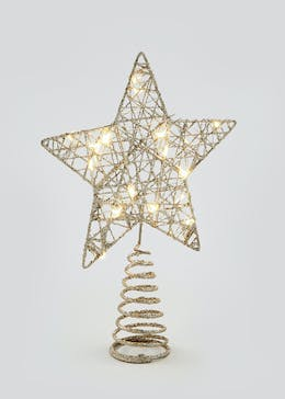 LED Star Tree Topper (26cm x 18cm x 5cm)