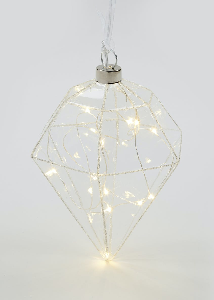 LED Light Up Diamond (19cm x 13cm)