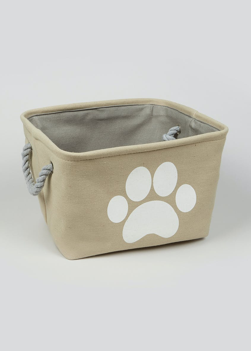 Pet Toy Storage Basket (35cm x 26cm x 21cm)