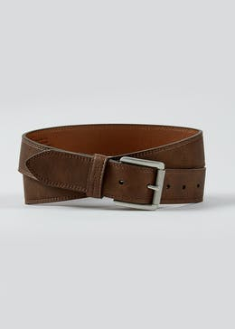 Brown Ben Sherman Real Leather Belt