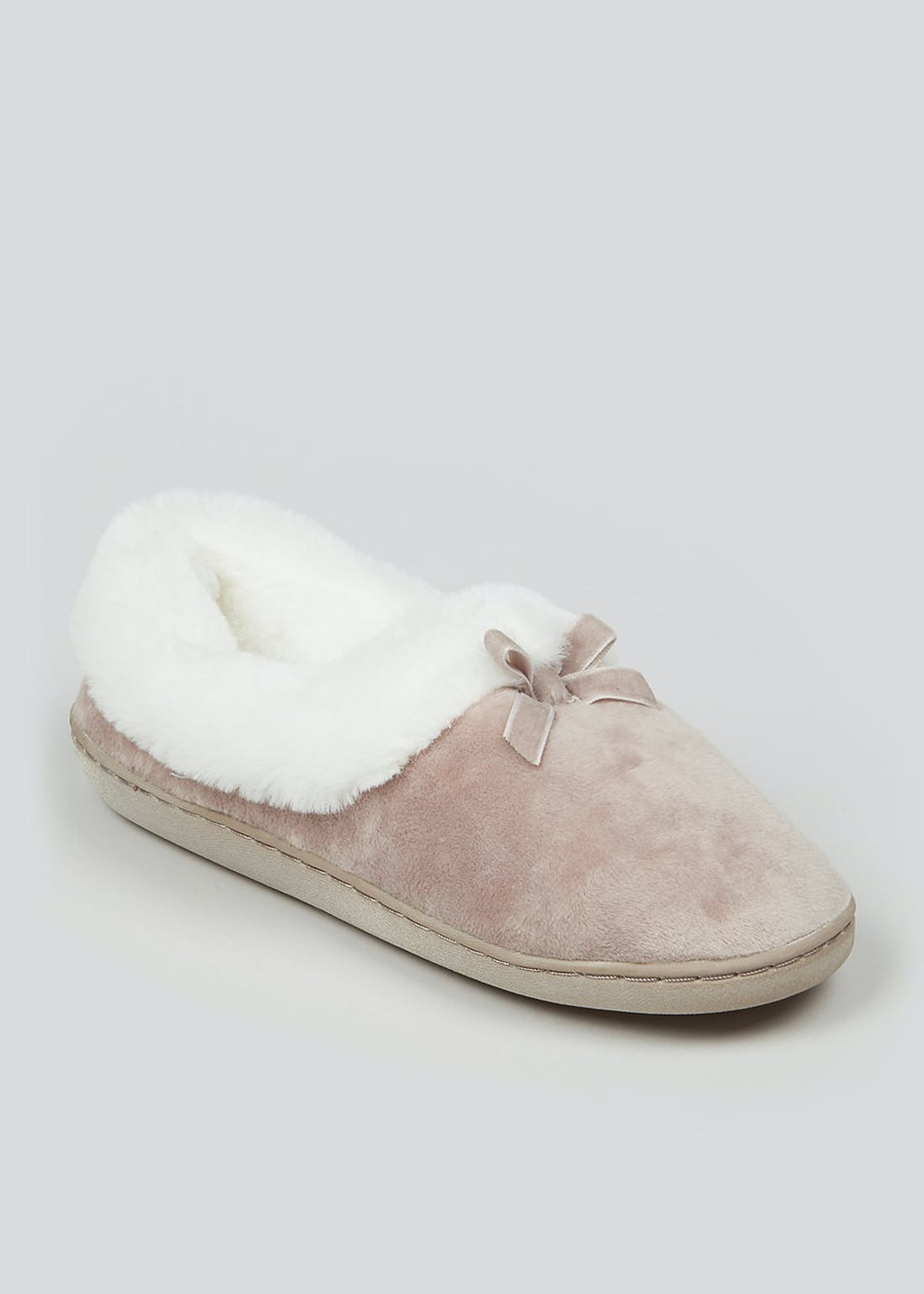 Mink Faux Fur Full Slippers