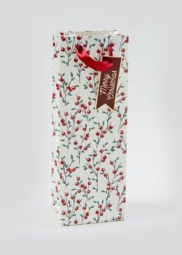 Christmas Bottle Bag (35.5cm x 13cm x 9cm)