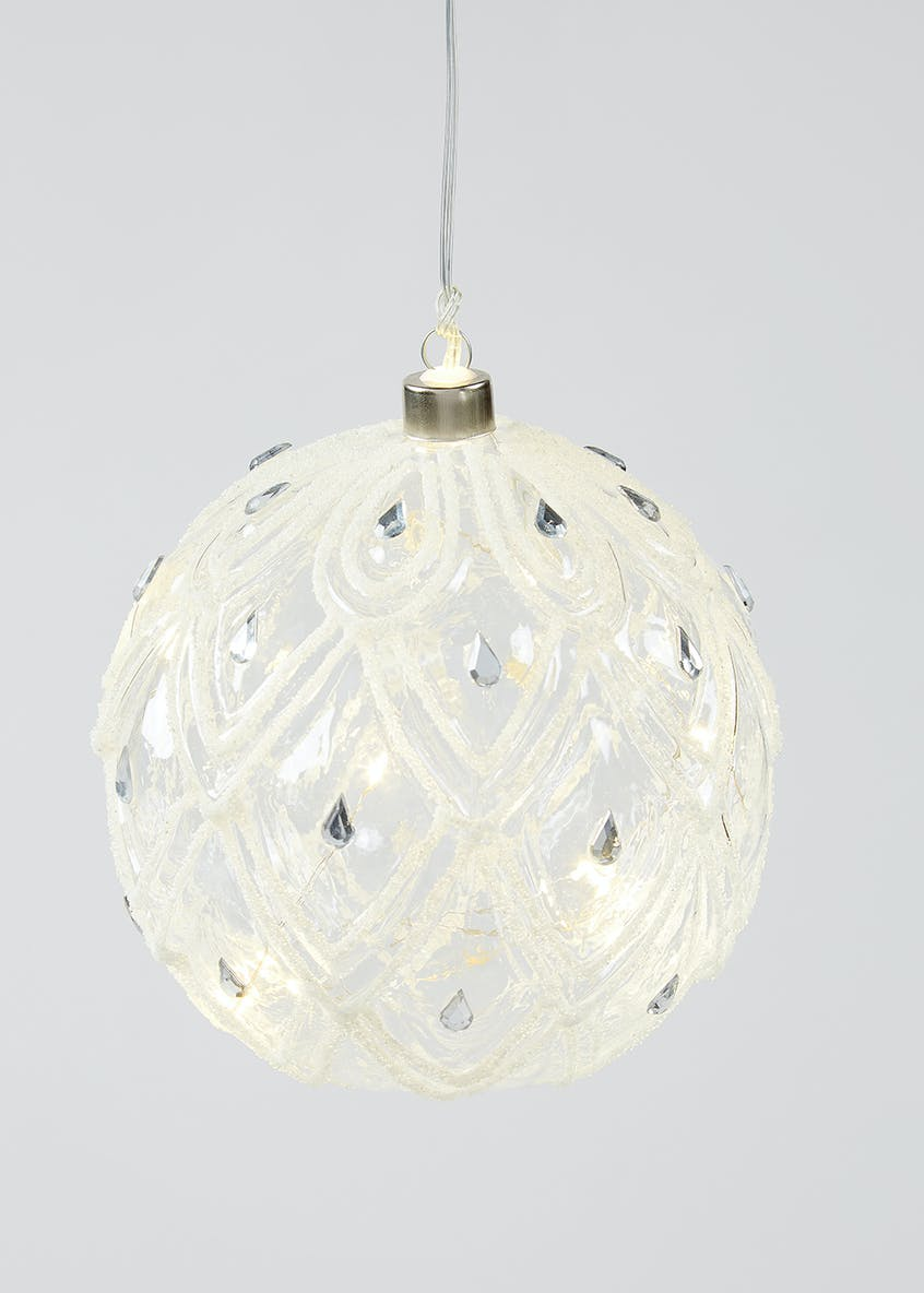 LED Decorative Christmas Bauble (15cm x 15cm)