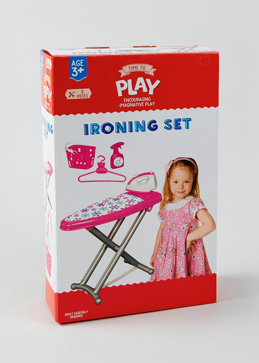 Kids Ironing Play Set (53cm x 33cm x 12.5cm)