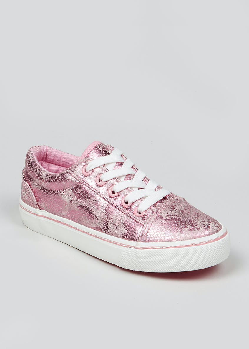 Girls Lace Up Trainers (Younger 10-Older 5)