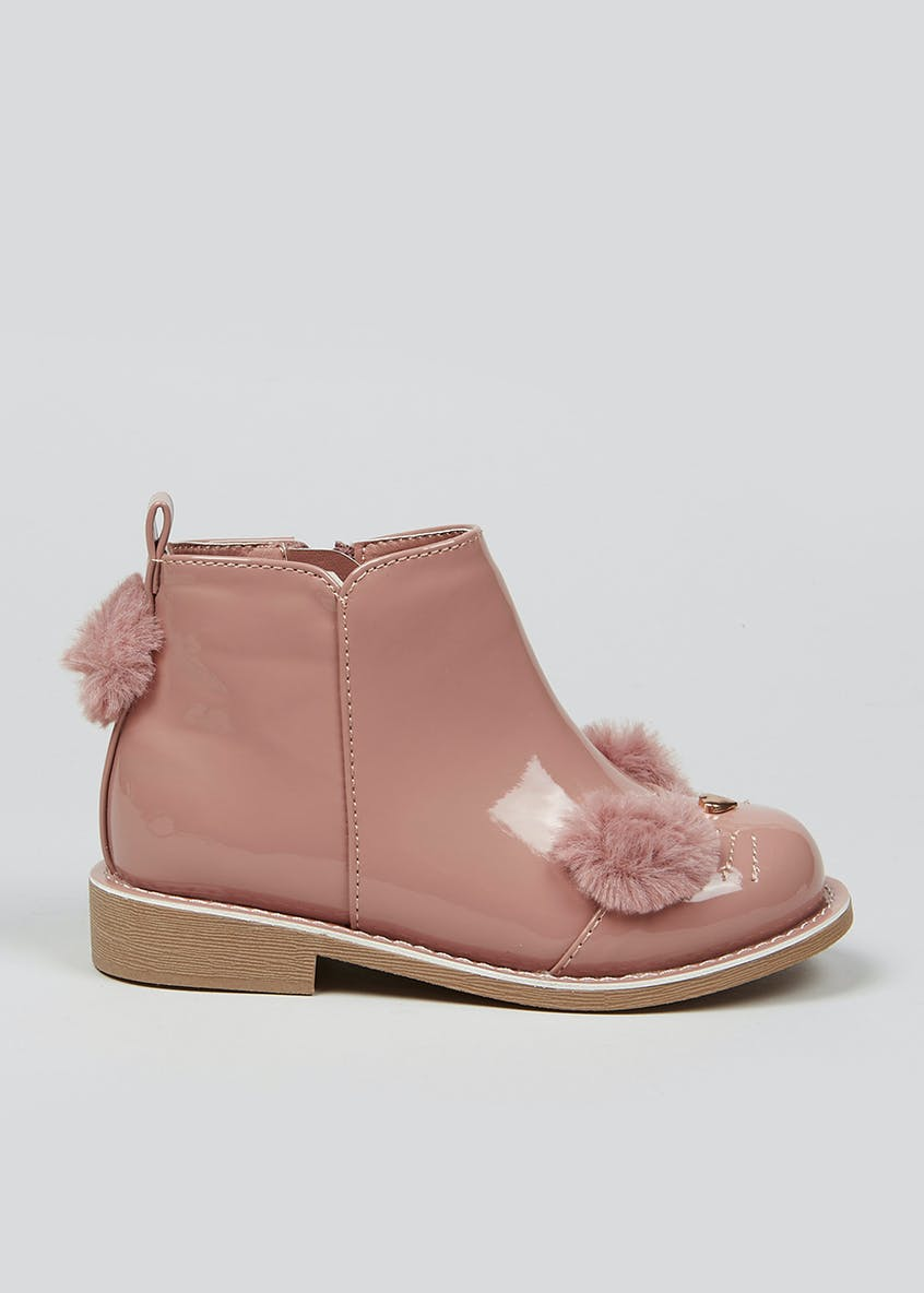 Girls 3D Bunny Boots (Younger 4-12)