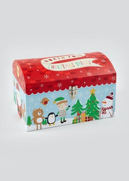 Christmas Chest Gift Box (41cm x 28cm x 26cm)