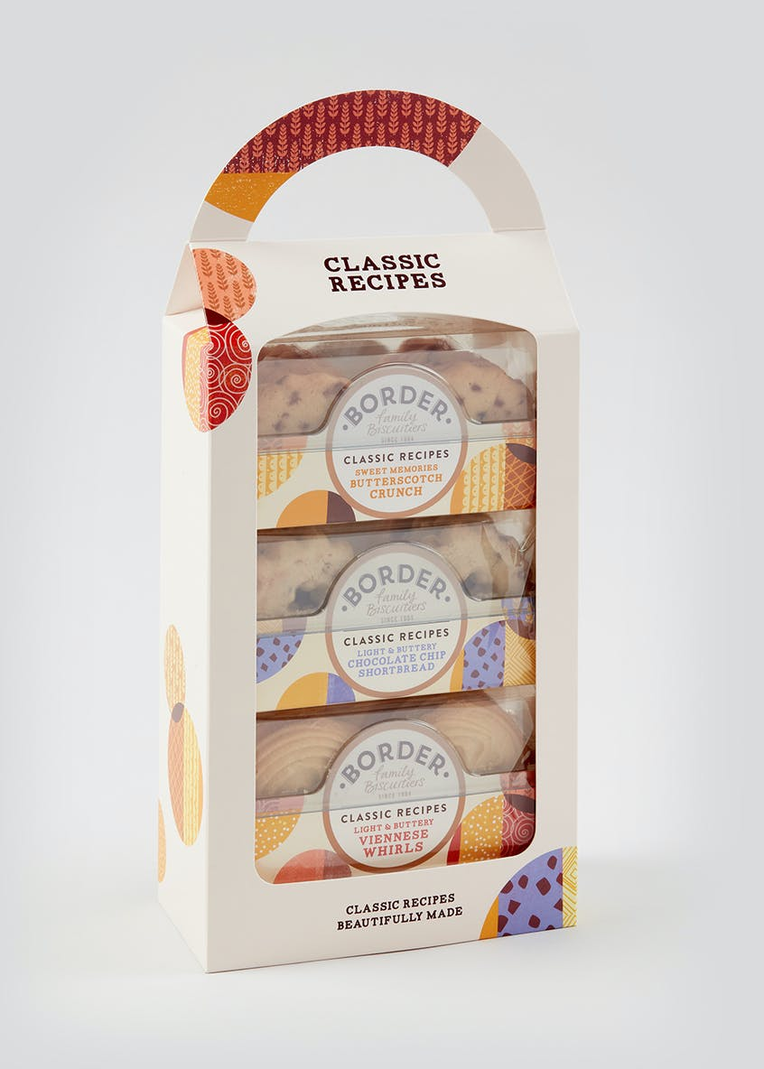 Border Biscuits Classic Recipes Carry Pack (30cm x 17cm x 8cm)