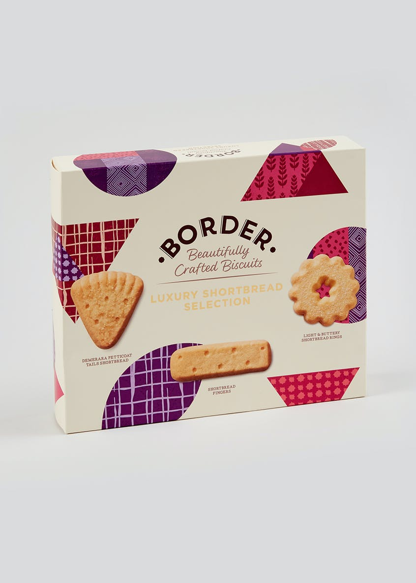 Border Biscuits Luxury Shortbread Selection (27cm x 22cm x 5cm)
