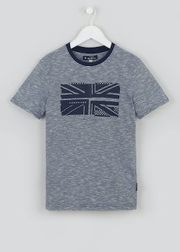 Boys Ben Sherman Union Jack T-Shirt (3-13yrs)
