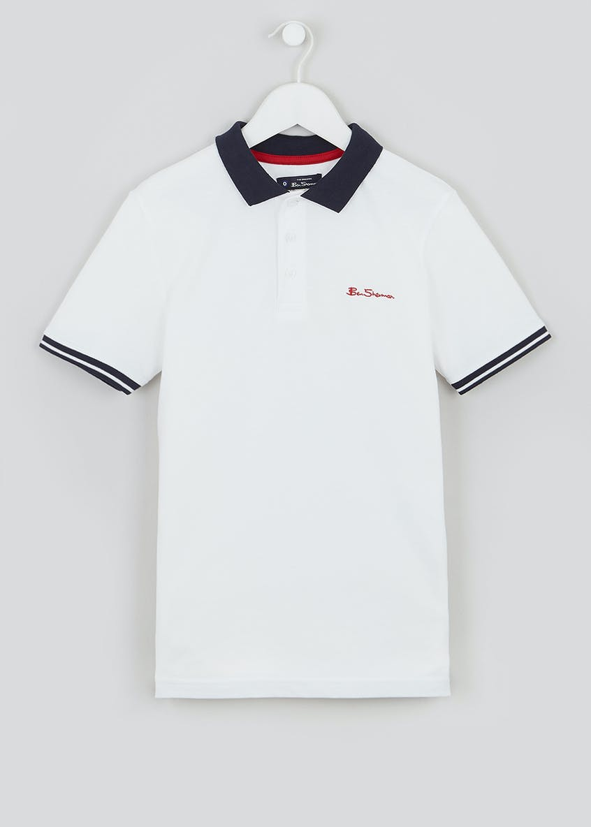 Boys Ben Sherman Short Sleeve Polo Shirt (3-13yrs)