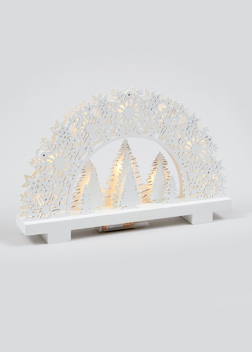 LED Arched Tree Scene