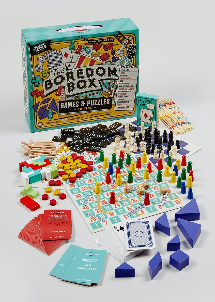 Christmas Boredom Game Box