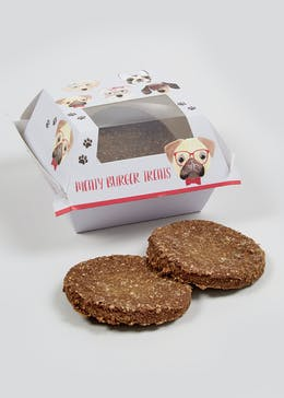 Dog Burger Treat (15cm x 14cm x 8cm)