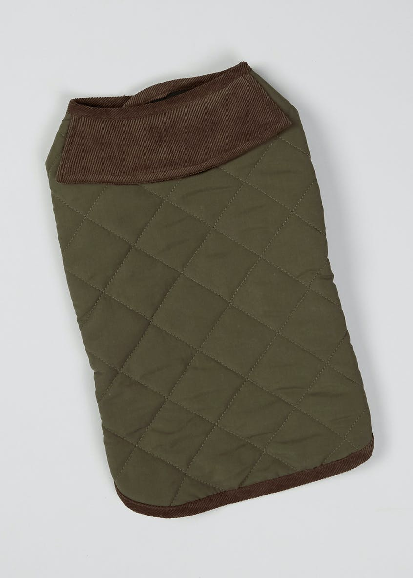 Quilted Dog Jacket (Small-Large)