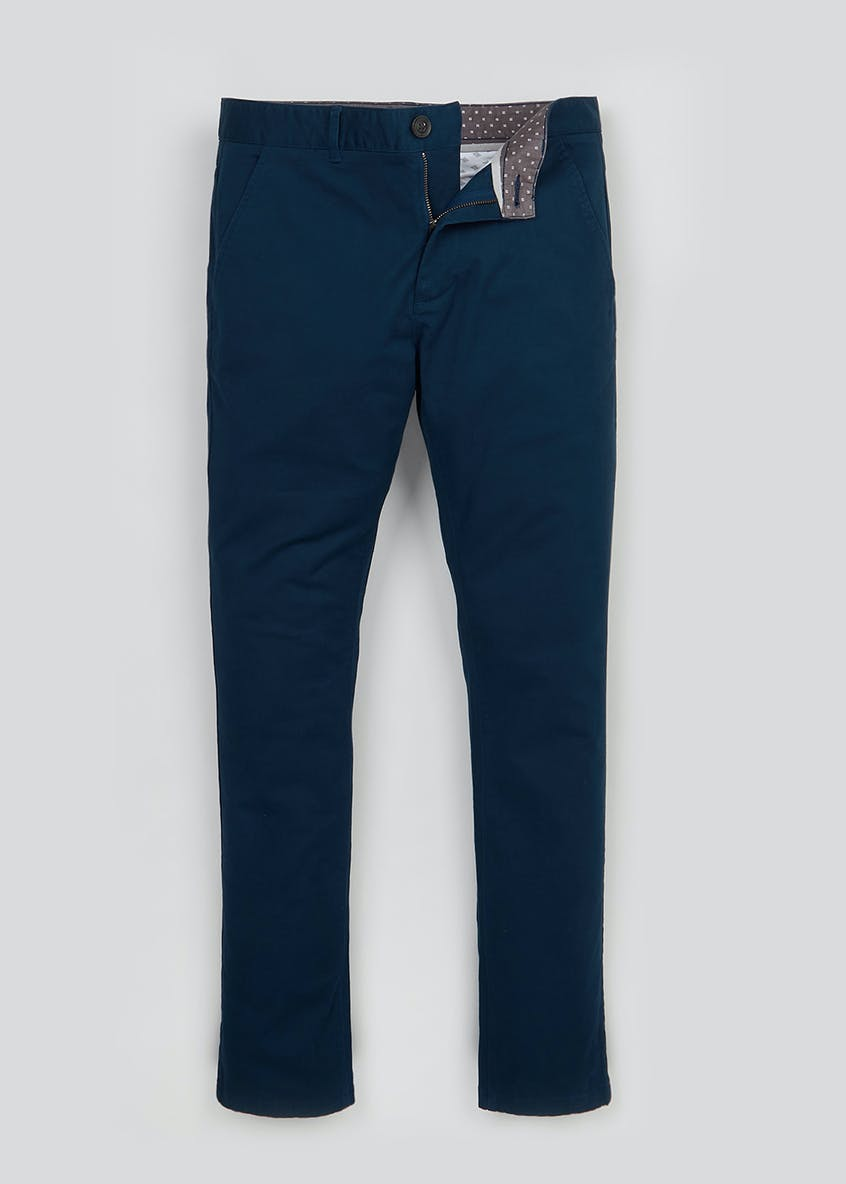 Skinny Fit Stretch Chinos