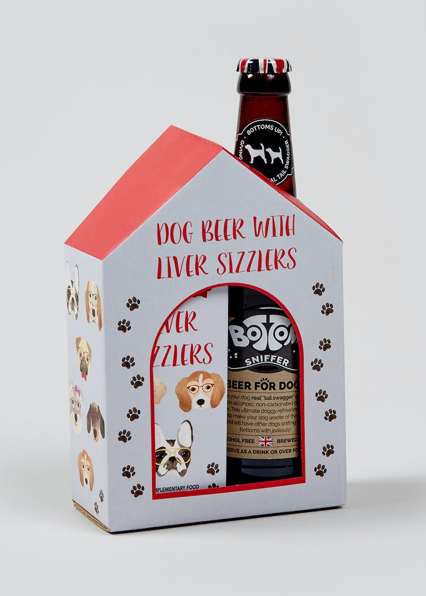 Dog Beer & Liver Sizzlers (24cm x 13cm x 7cm)