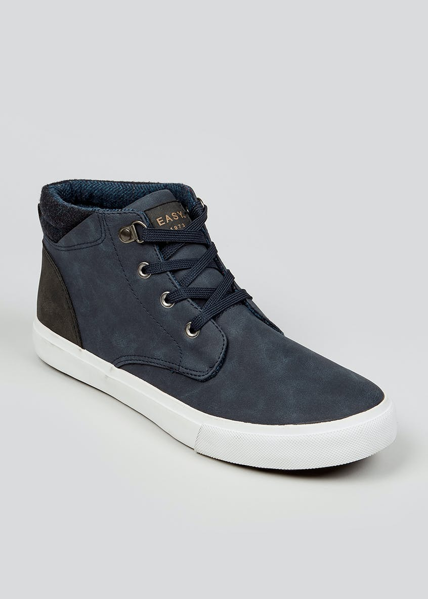 Navy Casual Sports Boots