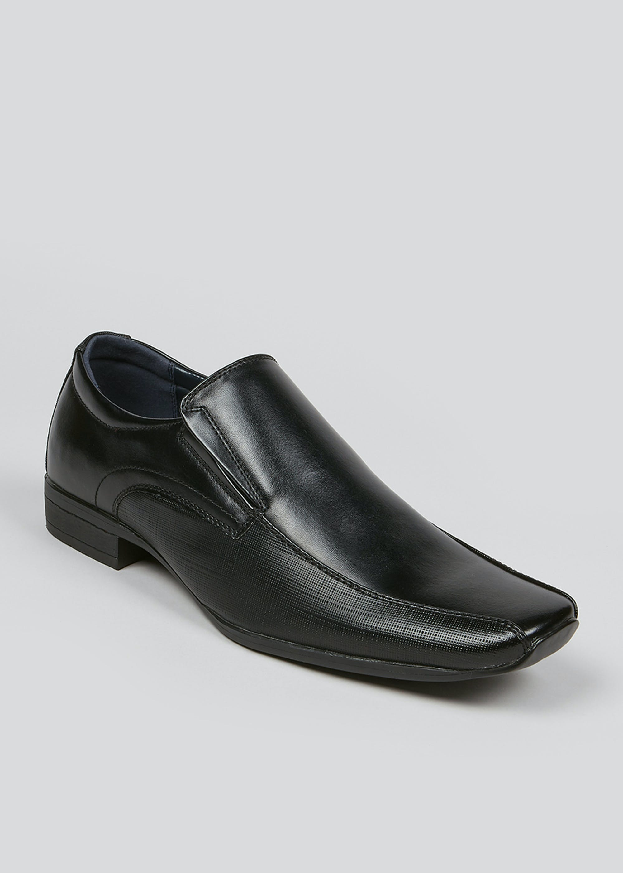 Black Tramline Slip On Shoes Black oAxSHw