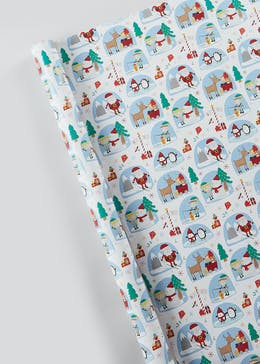 Character Christmas Wrapping Paper (10m)