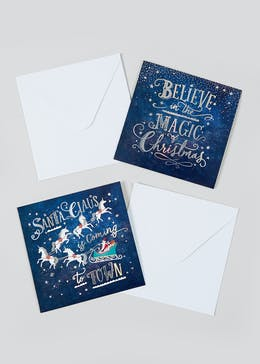 16 Pack Christmas Cards