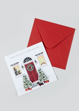 Deluxe 6 Pack Christmas Cards (16cm x 16cm)