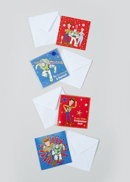 20 Pack Toy Story Christmas Cards