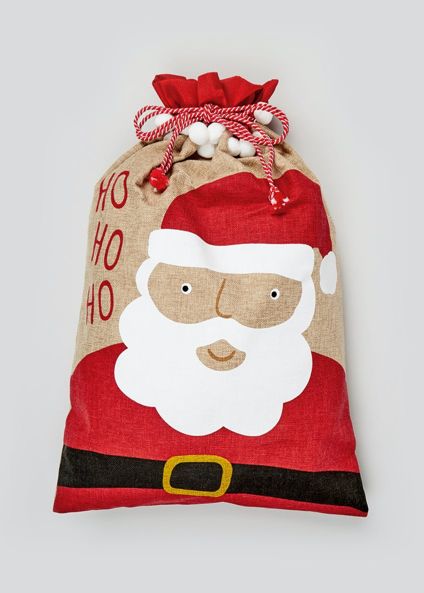Father Christmas Sack (50X75cm)