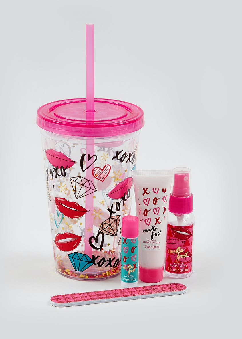 Tumbler and Toiletries Set
