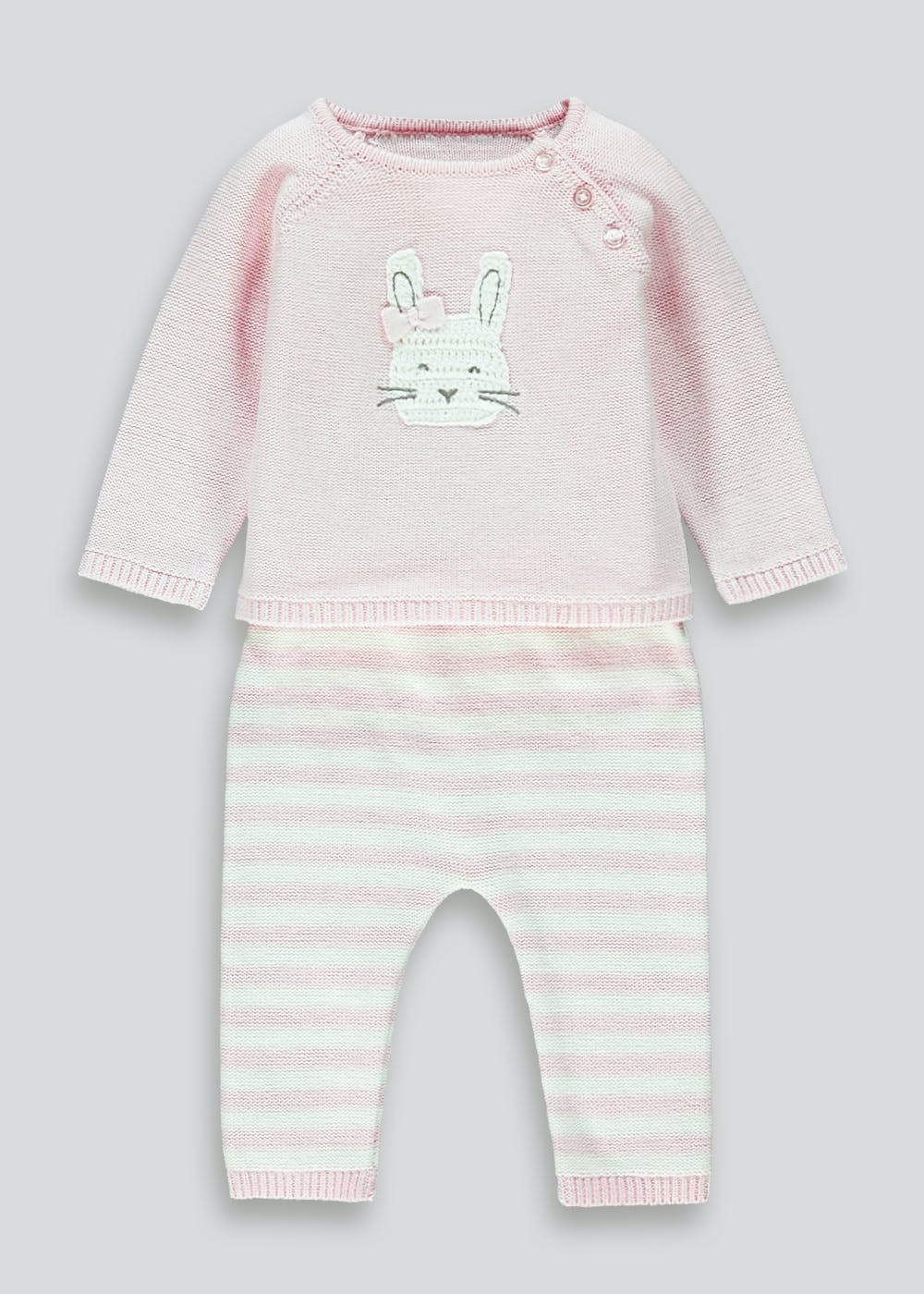 Baby girls pink striped short romper sleepsuit Sizes 0-3 3-6 & 6-12 months Clothes, Shoes & Accessories