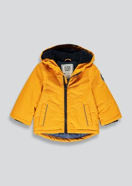 Boys Ochre Parka Jacket (9mths-6yrs)
