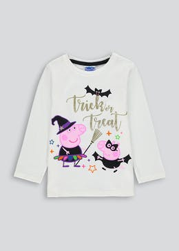 Girls Peppa Pig Halloween Top (12mths-5yrs)