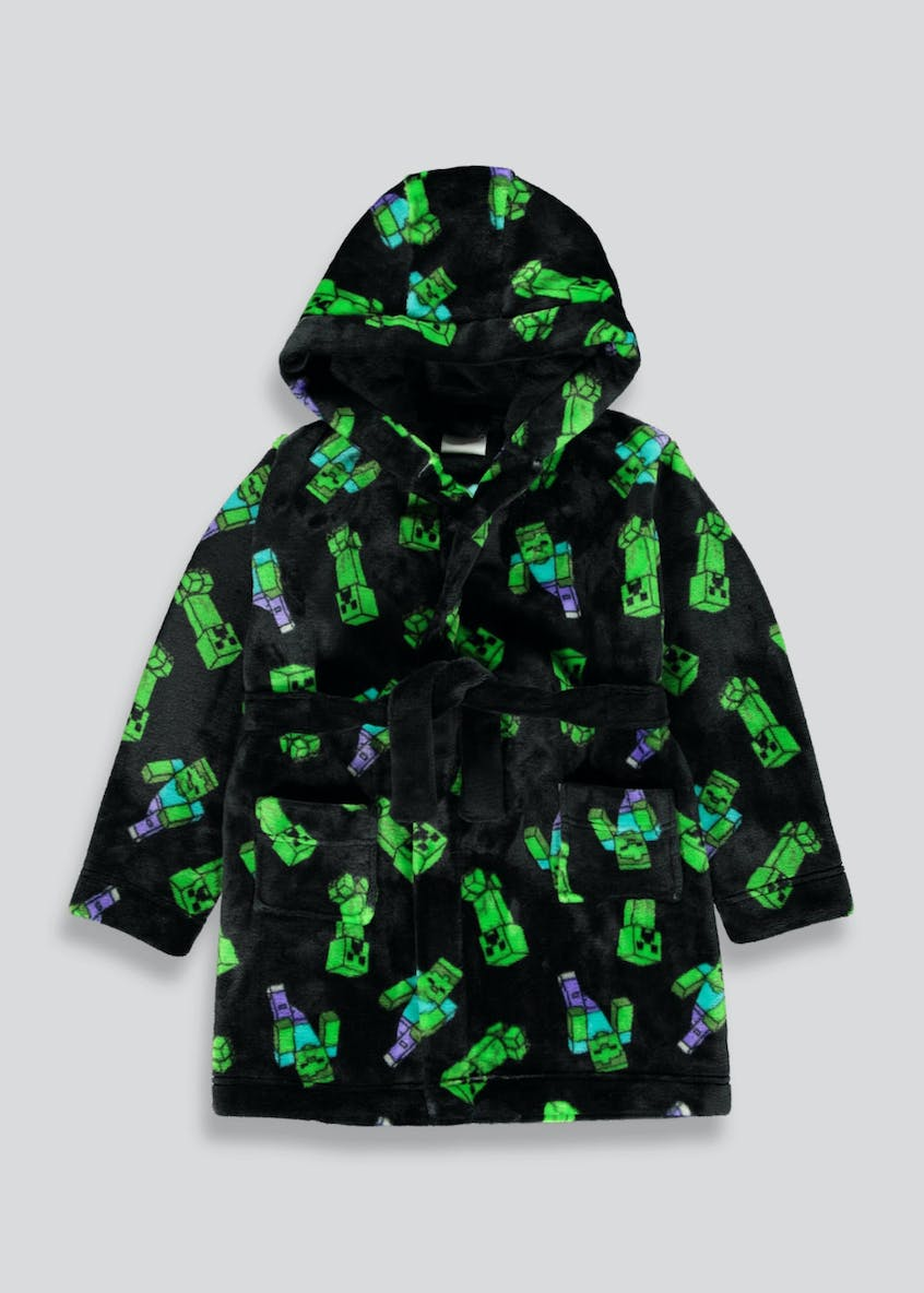 Kids Minecraft Dressing Gown (6-12yrs)