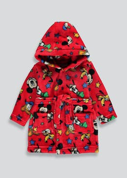 Kids Mickey Mouse Dressing Gown (3mths-5yrs)