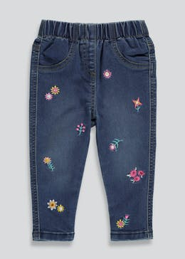 Girls Embroidered Jeans (9mths-6yrs)