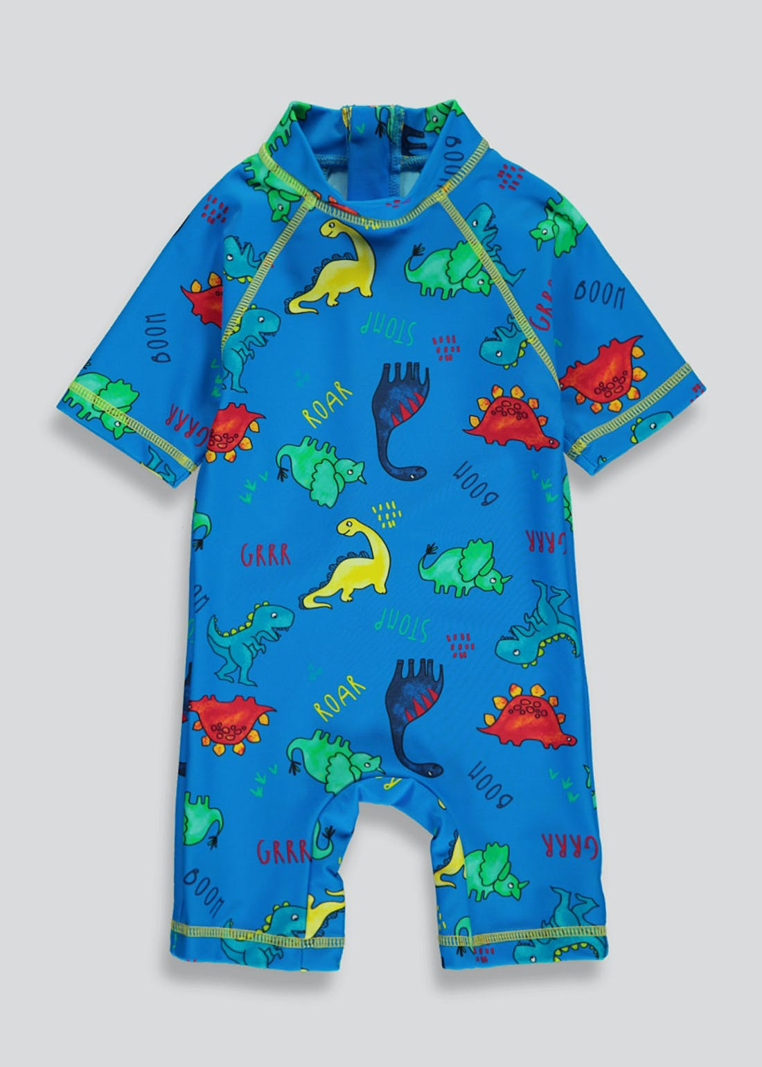 Kids Dinosaur Surf Suit (9mths-5yrs)