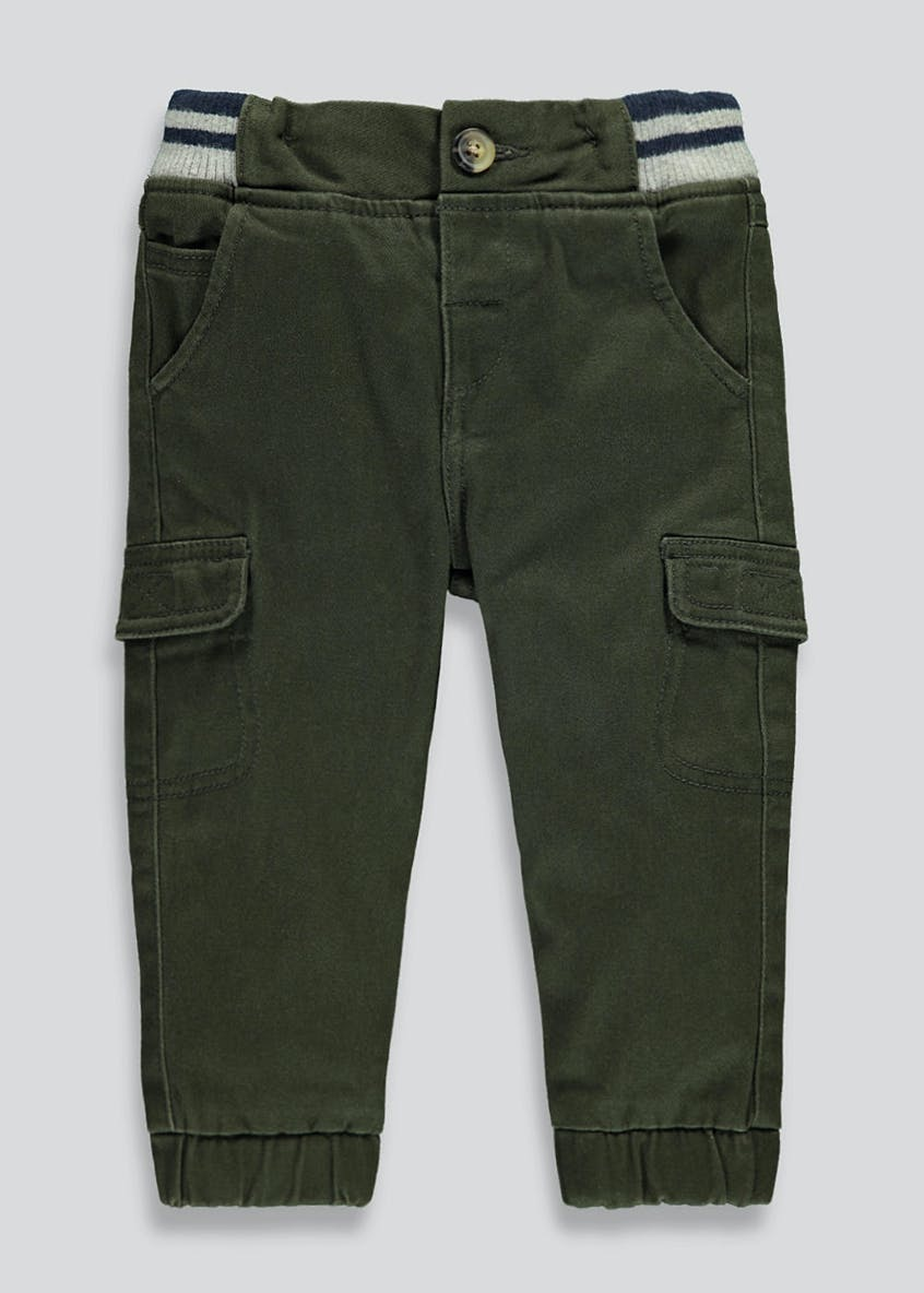 Boys Cuffed Cargo Trousers (9mths-6yrs)