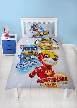 Kids Reversible Paw Patrol Duvet Cover (Single)