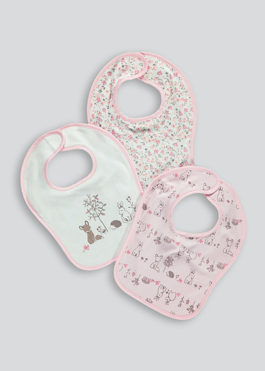3 Pack Bibs (One Size)
