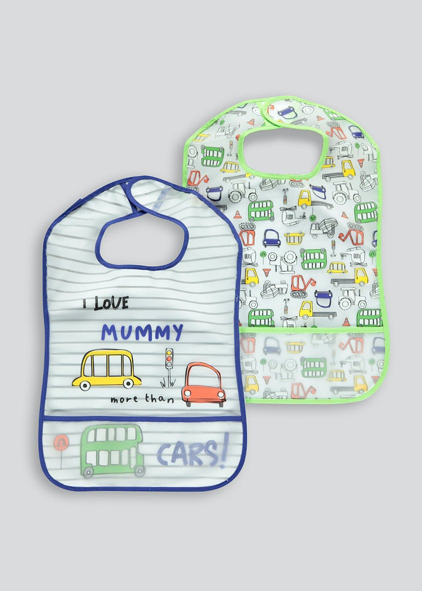 Kids 2 Pack Bibs (One Size)